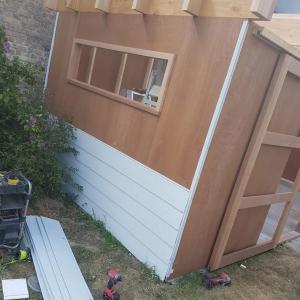 tuinhuis opbouw